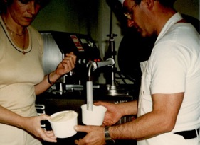 Concetta & Sal filling tubs