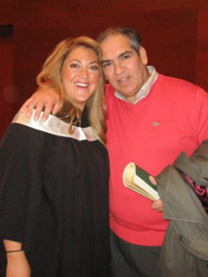 Josefina Chaves & Sergio Graduation Day
