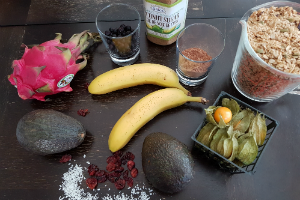 Chocolate Avocado Pudding Ingredients