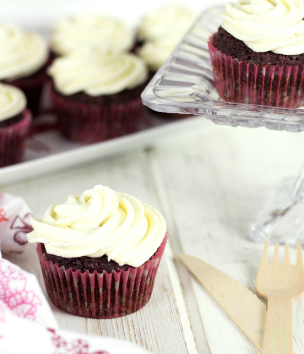 Cocoa Beet Cupcakes